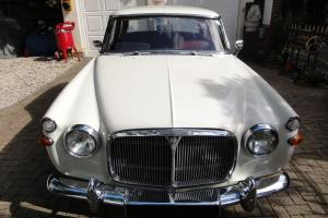 1965 ROVER MK 2 3 LITRE MANUAL WHITE