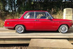 1974 BMW 1602 recently restored, bbs rs wheels, nardi steering wheel, new parts