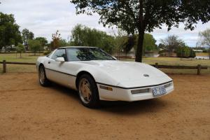 1989 Corvette White Vortec 350 Fuel Injected Auto With Victorian RWC REG 22 7 14 in Barwon, VIC