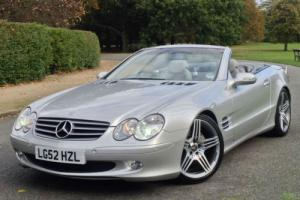 2002 Mercedes-Benz SL500 Roadster - 8,600 MILES FROM NEW - UNIQUE CAR