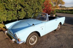 1965 SUNBEAM ALPINE GT SERIES 5 HARDTOP MEDITERRANEAN BLUE 4 SEATS RARE MODEL