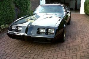 1979 PONTIAC TRANS AM BLACK CUSTOMISED BODY WORK