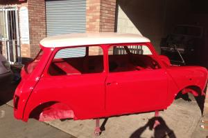 1992 CLASSIC MINI COOPER 1.3SPi TOTAL BARE METAL BODY REBUILD 95