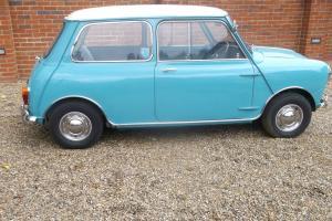1962 austin Mini Cooper 997 surf blue