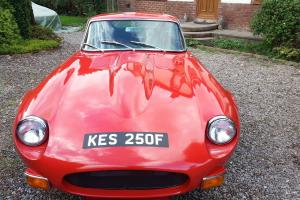 BEAUTIFUL 1967 SIGNAL RED JAGUAR E TYPE SERIES 1 4.2 FHC ,NO RESERVE