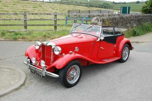 Immaculate show car winner 1952 MG TD 1275cc full nut and bolt restoration