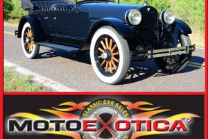 1923 HUDSON TOURING SUPER SIX FIVE - VERY RARE , RUNS AND DRIVES GREAT- LQQK !!!
