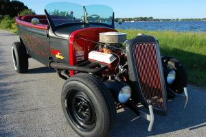 1929 Rat Rod Roadster 4 Door Bucket Tub, Suicide Rear Doors