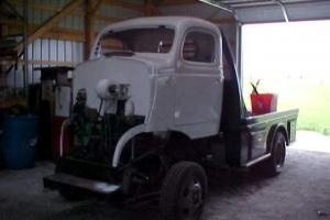 1940 Dodge COE Cab Over On Mitsubishi Frame New Custom Flatbed New Parts