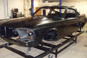 1967,1968 FORD MUSTANG FASTBACK,SHELBY,GT,ELEANOR,CLONE,NEW RECONDITIONED BODY'S Photo