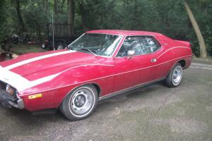 74 amc amx. 401 with the go package