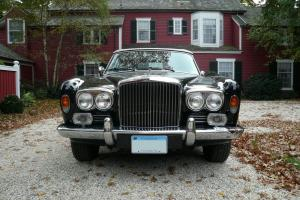 1973 Bentley Corniche Convertible - Mason Black/Tan Hides - Rare 1 of 3 built