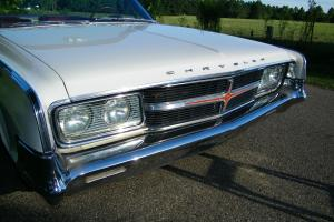 1965 CHRYSLER 300 CONVERTIBLE SURVIVOR / ONLY 1416 MADE / RARE AC AND LEATHER
