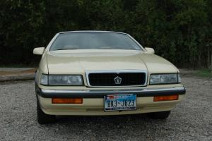 1989 Chrysler TC by Maserati - under 15K miles!