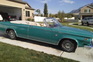 Classic 1963 Chryser 300 convertible in good condition.