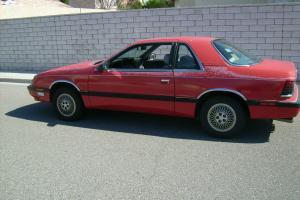 1989 Chrysler LeBaron Premium Coupe 2-Door 2.5L