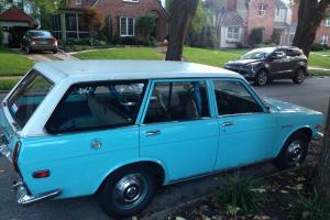 1970 Datsun 510 wagon -- No reserve