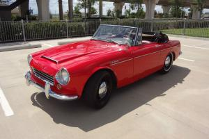 1967 Datsun Roadster 1600 Convertible Short Window Early 67 NO RESERVE Texas car