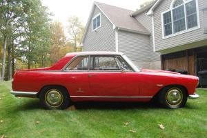 1964 Lancia Flaminia Pinifarina 2.8 Coupe with additional complete parts car