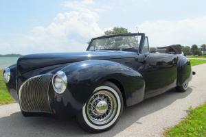 1940 Street Rod Resto Ro Lincoln Continental Cabriolet Convertible Midnight Blue