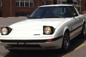 White 1985 Mazda RX7 (Automatic)