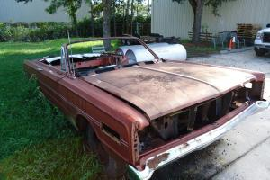1966 Mercury s55 Convertible 4 Speed, Automatic (TWO CARS)