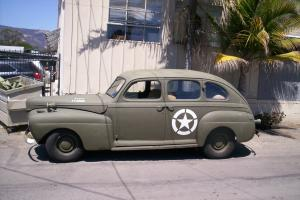 WWII 1941 MERCURY STAFF CAR HOT ROD/RAT ROD