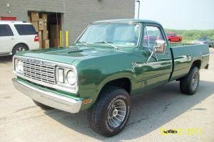 1977 Dodge Power Wagon Custom 200 only 27,000 original miles!