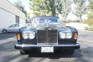 1977 Rolls Royce Corniche Convertible 28k miles