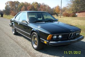 1985 BMW 635CSi Base Coupe 2-Door 3.5L parts car.