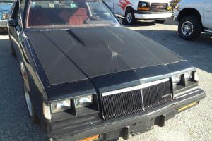 1984 Buick Regal ( Parts Car)   455 Engine Runs Good,,,,,,,,Barn Find