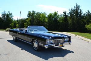 1972 Cadillac Eldorado Convertible 2-Door 8.2L