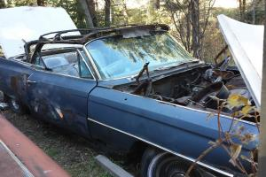 TWO 1963 Cadillac Deville's one convertible & one hard top