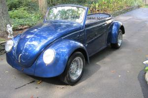 1968 VW Convertible Beetle with 2110cc engine w/dual 48 Carbs