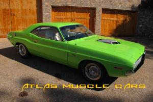 """1970 Challenger R/T """"V code"""" six pack numbers matching engine and trans"""