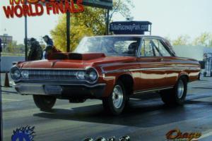 1964 Dodge Polara Street/Strip Nostalgia Super Stock Drad Race Car Photo