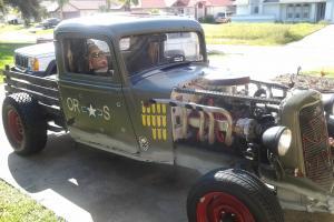 32 DODGE RAT ROD WITH WW11 HISTORY