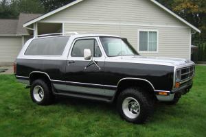 1987 Dodge Ramcharger Base Sport Utility 2-Door 5.9L