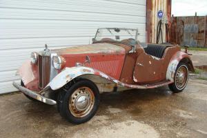 1952 MGTD  PROJECT. SOLID CAR # MATCH     TEXAS