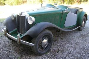 1950 MGTD  PROJECT MATCHING NUMBER EARLY TD OFF ROAD SINCE 1970 NO RESERVE