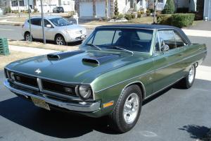 Restored 1971 Dodge Dart 360Cu In. 2 Door automatic floor shift with console