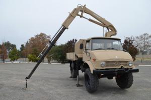 Mercedes Benz Unimog 416 Hiab Crane Truck