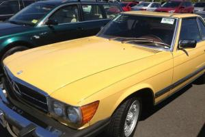 1978 MERCEDES 450 SL 66K MILES ONE OF KIND NEW VERY CLEAN