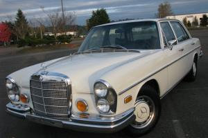 1972 Mercedes 280SEL 4.5 - Vintage Benz Collector Sedan; A Great Driver !!!