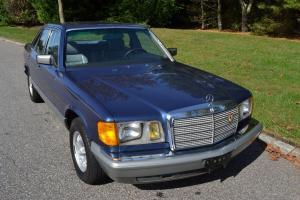 1985 Mercedes 380SE  Sedan with 36793 original miles.