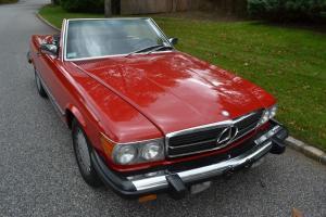1987 Mercedes 560SL with 52170 original miles.