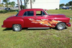1951 4 Door Red DeSoto Runs and Drives Like a Dream! Photo