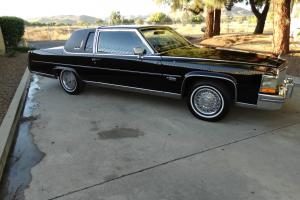1981 Cadillac Brougham d'Elegance 2 Door Triple Black