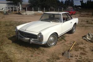 1964 230sl 4spd manual restoration project NO RESERVE