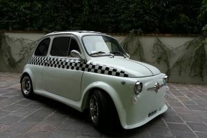 FIAT 500 L HOT ROAD CUSTOM CAR ENGINE TUNED , STUNNING SHOW CAR